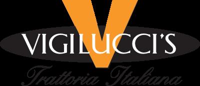 Vigilucci's Trattoria Italiana logo.