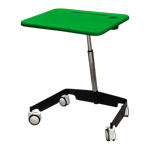 Kore Sit-Stand Mobile Student Desk Green
