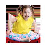 Floor Wobbler Balance Disc Girl
