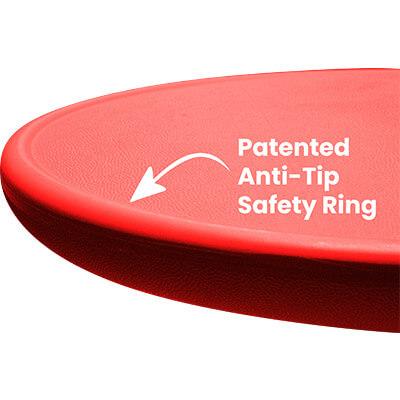 Anti-tip ring