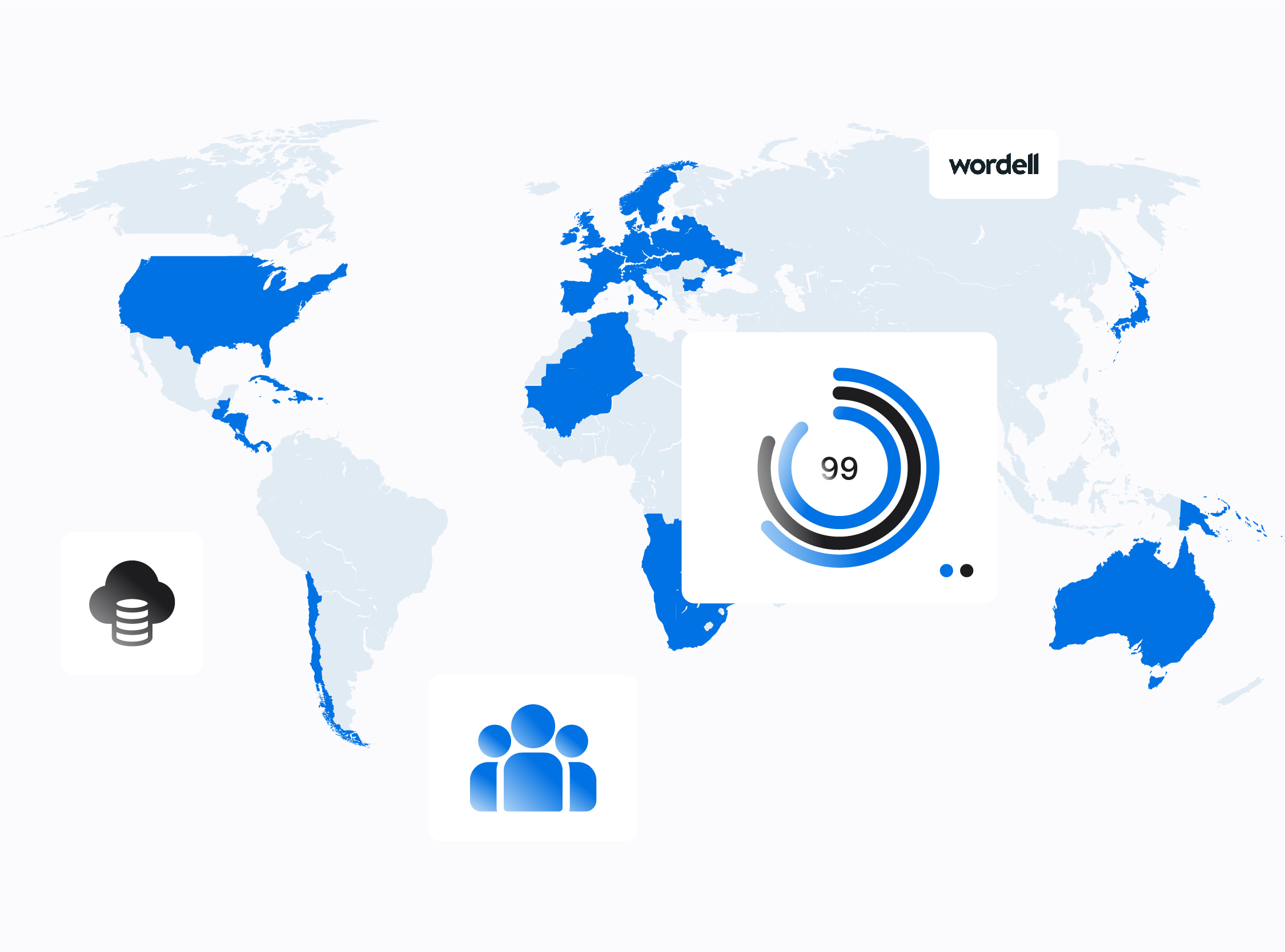 a global view of business and digital reach for revenue growth potential