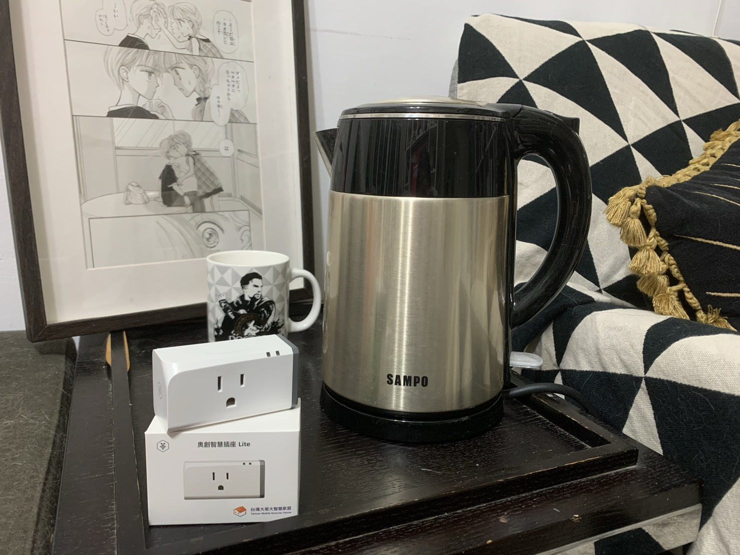 Electric kettle and Smart Outlet