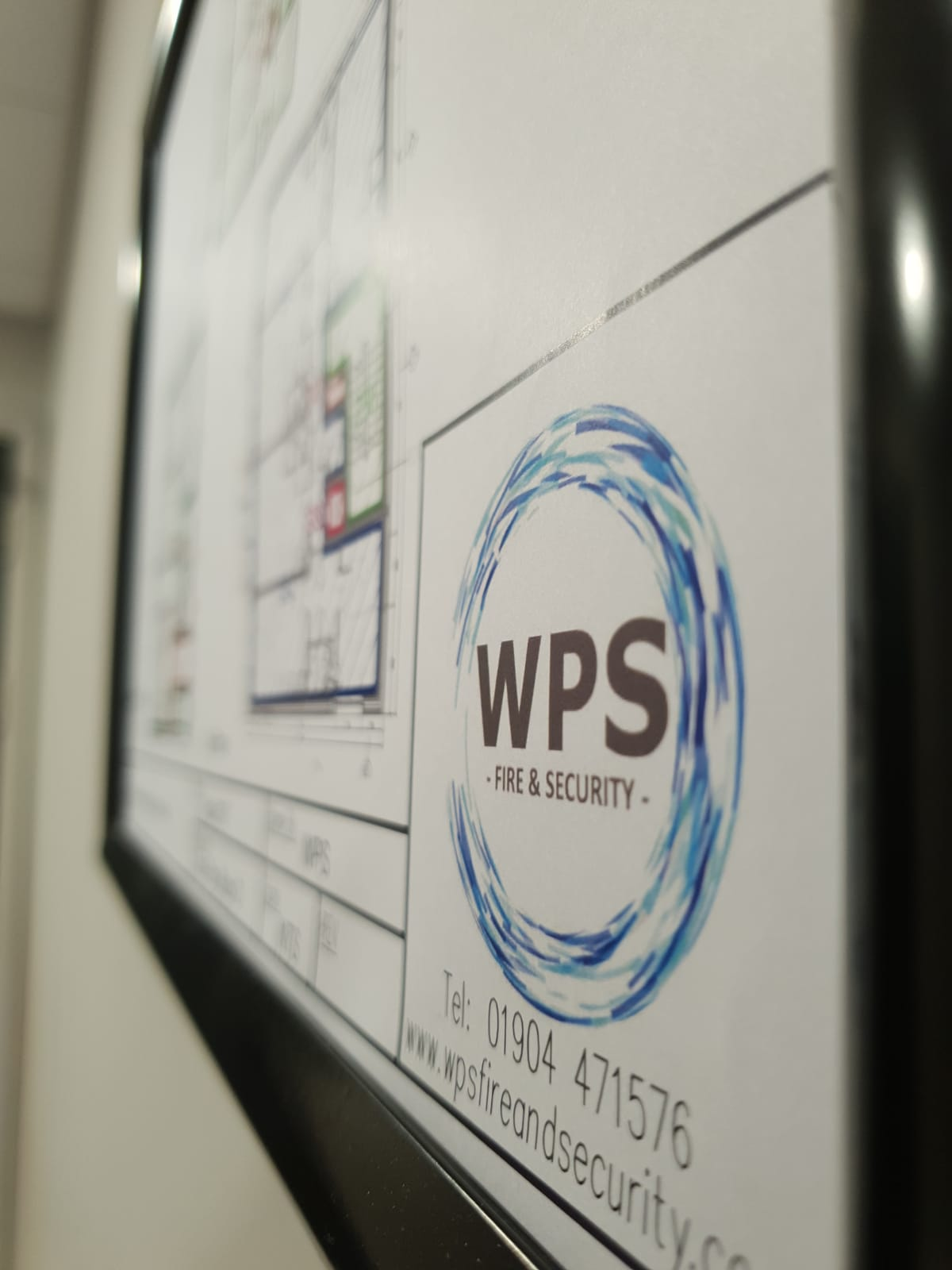 WPS Fire and Security fire alarm system designs and plans.
