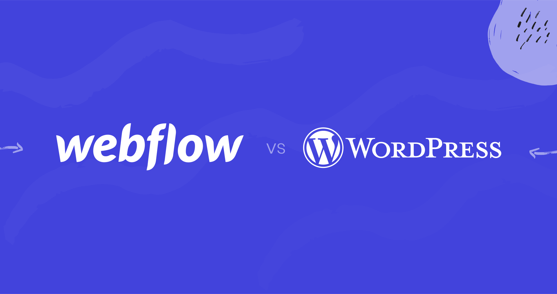 Webflow vs Wordpress Image