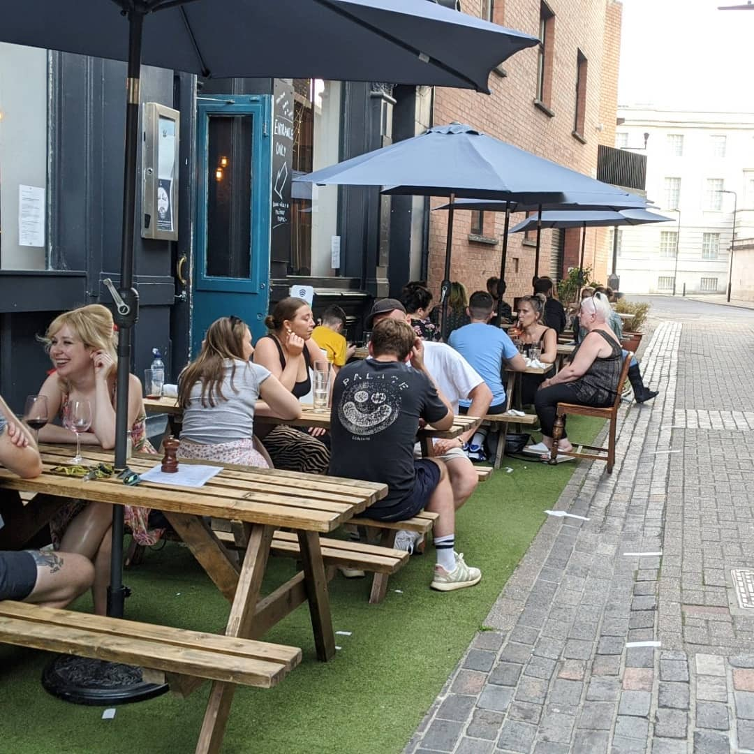 2 weeks to go!! 🎉  We've applied with Hackney Council to allow us  coverage for our terrace to keep that wind and rain at bay!  Fingers crossed we get the go-ahead 🤞 . . . #hackneypubs #hackneycouncil #keeppubbing #keepingpubsalive #outdoordrinking #hackneybeergarden #hackneyterrace #hackneylife #welovehackney #hackbeyresturants #hackneypubs #hackneyweddings #supportsmallbusiness #supportyourlocal #beersbeersbeers #aperolspritz