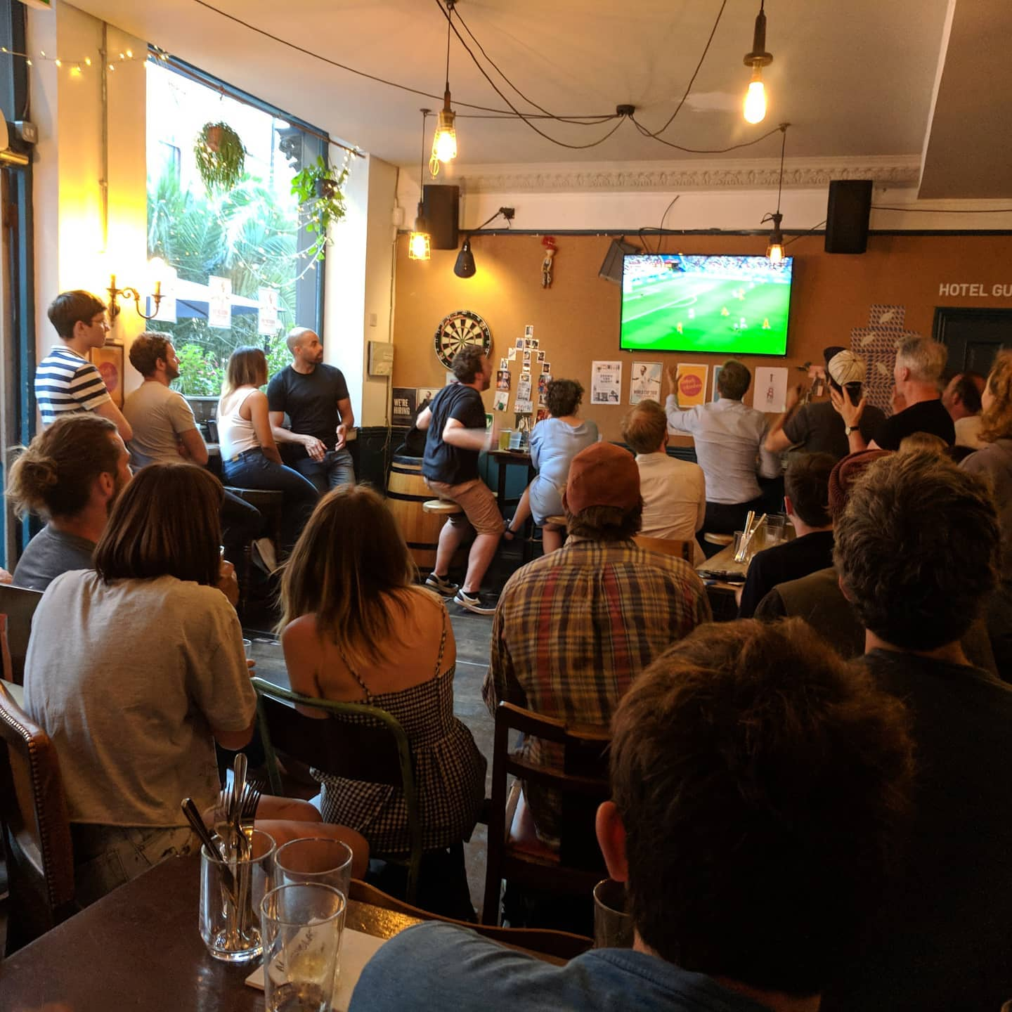 Euros is just around the corner! 11th June - 11th July. ⚽  For whoever you support, we'll be showing every game we're able to! 🏆  England days are booking up fast so get in there quick.  #linkinbio👆  . . . #euros2020 #euros2021london #football #showingallfixtures #londonfootball #footy #hackneypubs #welovehackney #pintspintspints