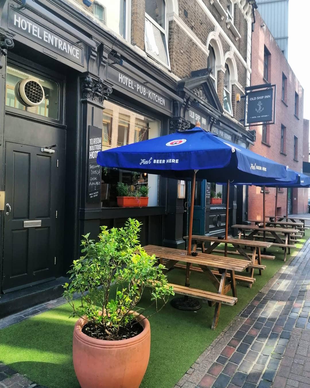Terrace is open....  #hackneylocal #hackneytownhall #open #hackney #londonvibes #foodie #dalston#stokenewington #craftbeer #cocktails #clapton #pubterrace #goodvibes #beer #beergarden #ales #sunnyday #oldshiphackney
