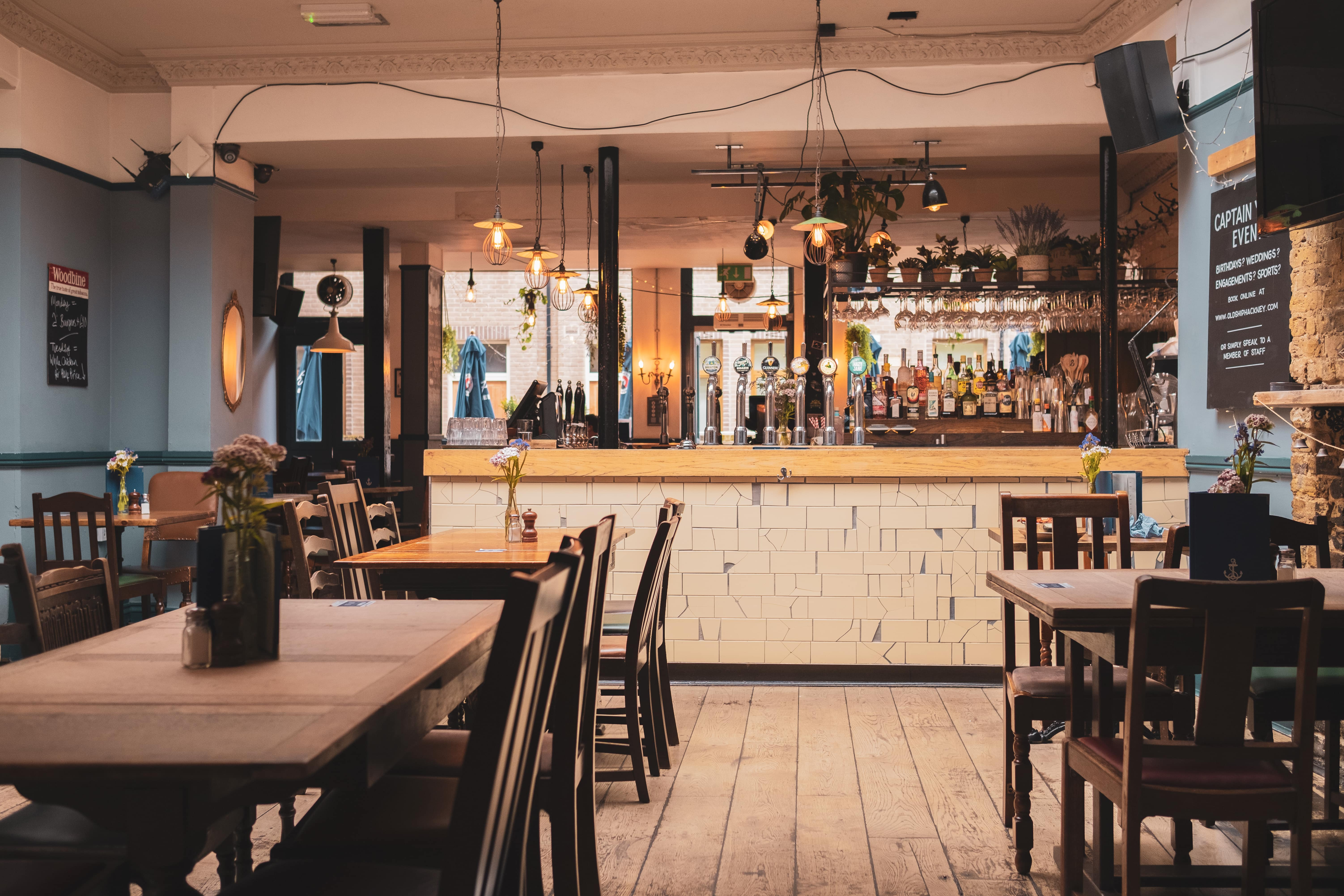 Hackney pub image of the bar