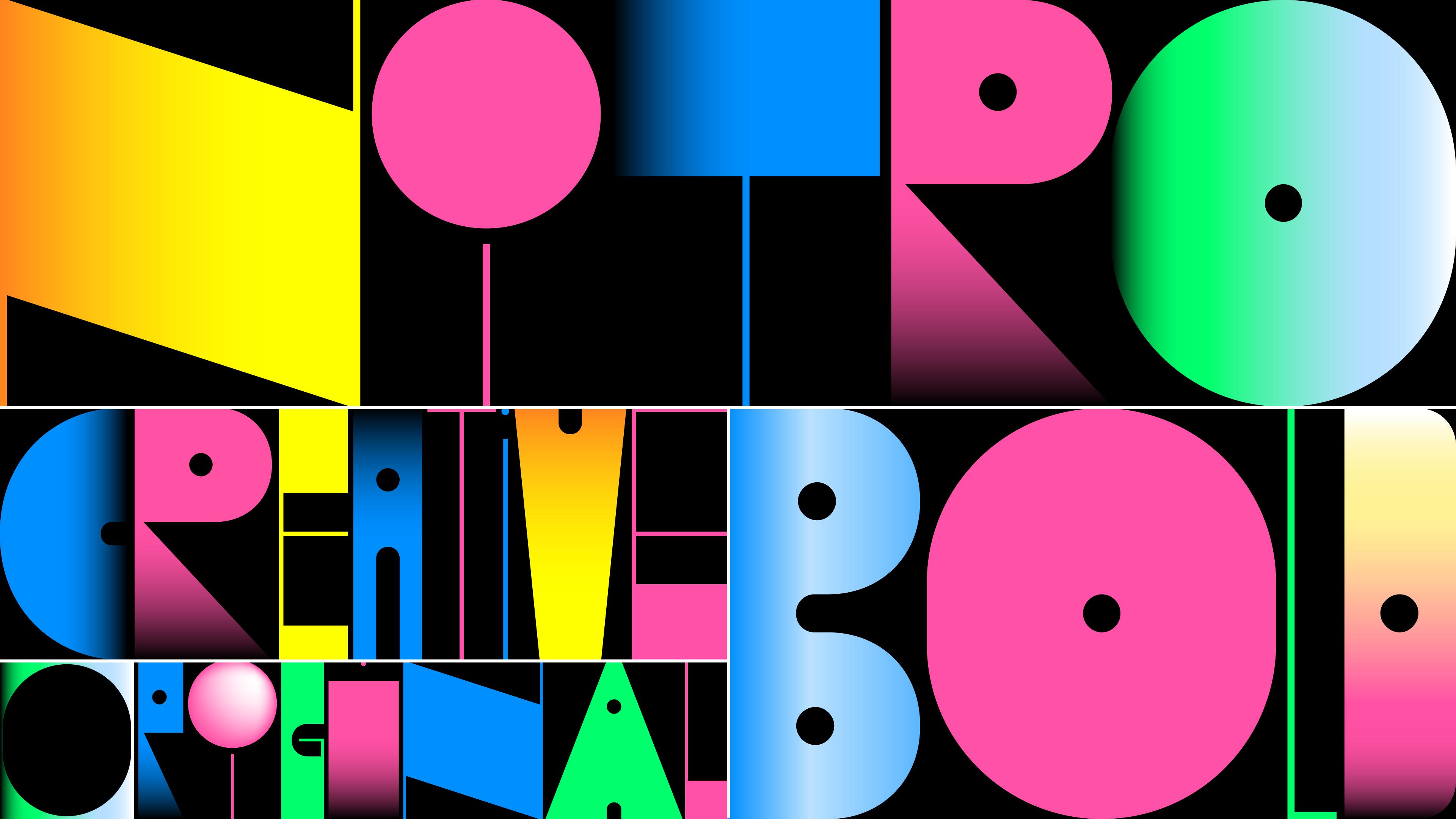 Nitro font specimen designed for Celtra.