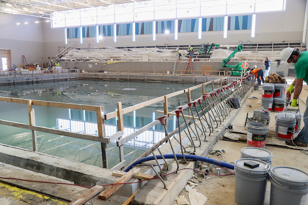 """City's Indoor Recreation Complex """"Coming Together"""" as Construction Phase Nears Beginning of the End"""