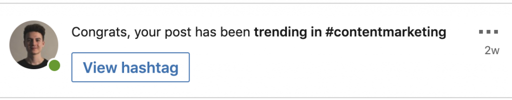 Trending on LinkedIn