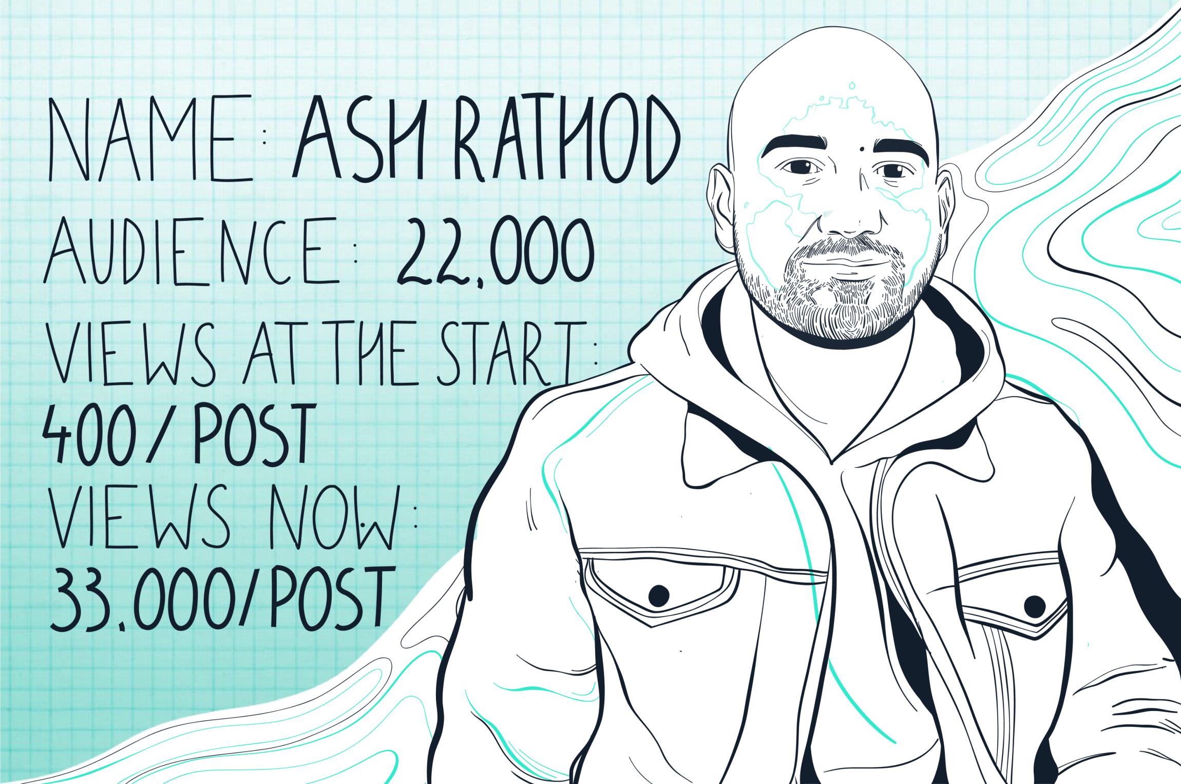 Storytelling on LinkedIn with Ash Rathod