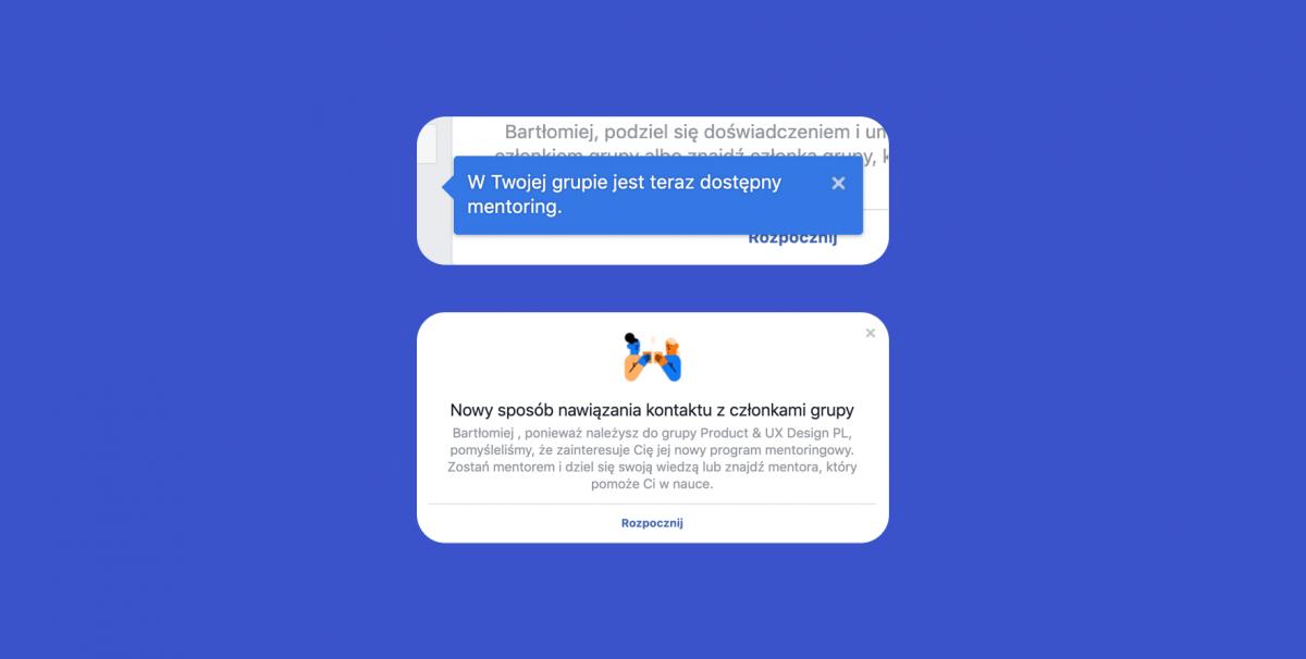 Facebook - nawiązywanie kontaktu z członkami grupy