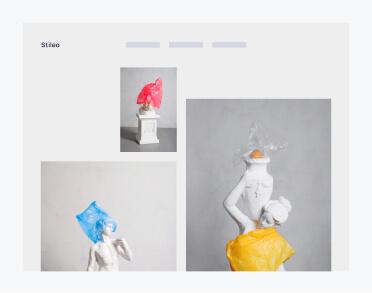 E-commerce browser mockup