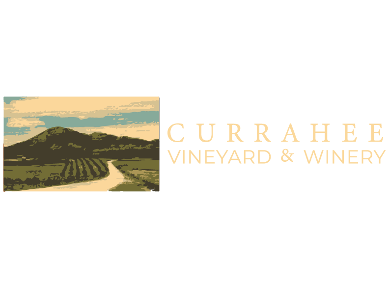 Currahee Vineyard and winery logo at the tower shops in pigeon forge tennessee