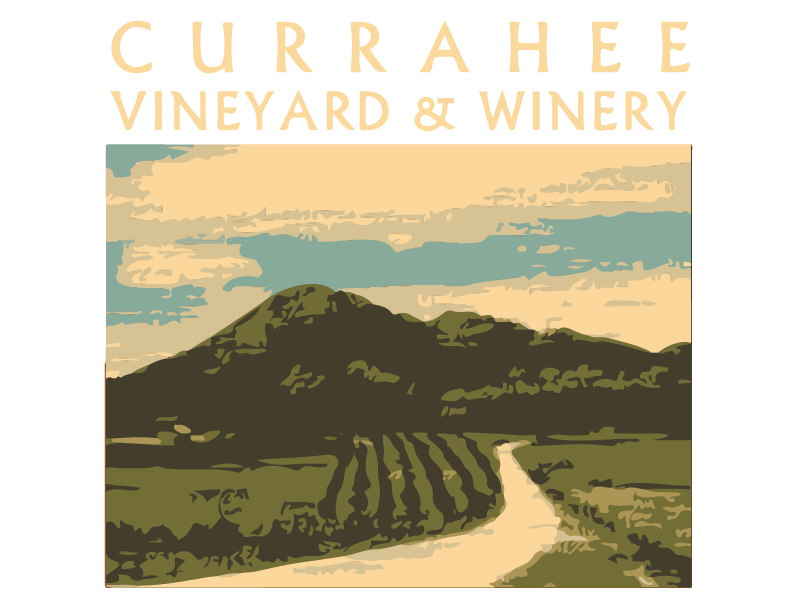 currahee vineyard logo at the tower shops in pigeon forge tennessee