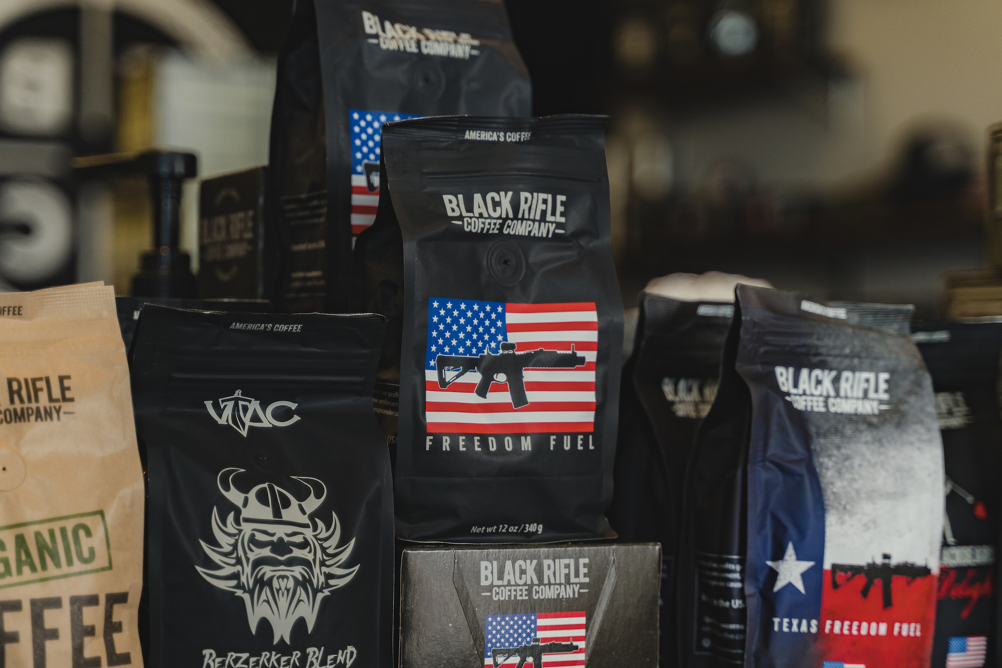 inside coffee armory at the mountain mile mall in pigeon forge tennessee