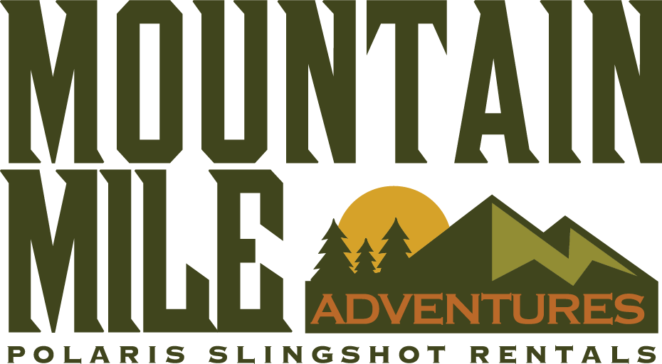 Mountain Mile Adventures logo - the Mountain Mile Adventures is a Polaris Slingshot rental company - Polaris Slingshots are available as rentals at the Mountain Mile Mall at Mountain Mile Adventures in Pigeon Forge, Tennessee