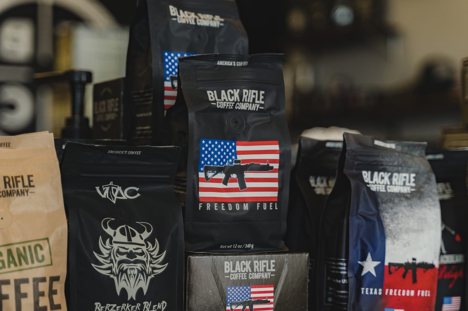 coffee armory, a partner of black rifle coffee company, in the mountain mile in pigeon forge
