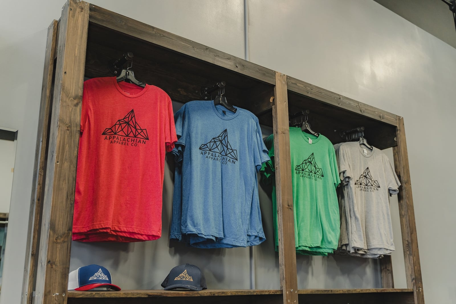 appalachain apparel co in the mountain mile in pigeon forge