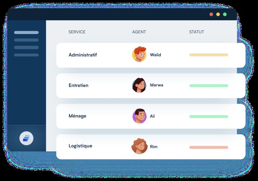 Proservy, plateforme de gestion administrative et logistique en ligne (coursier, administration, logistique, création d'entreprise, etc.)