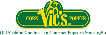 Vic's Corn Popper logo
