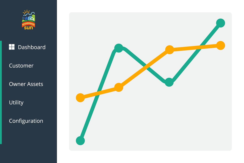 line graph graphic