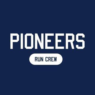 Pioneer Run Crew logo.
