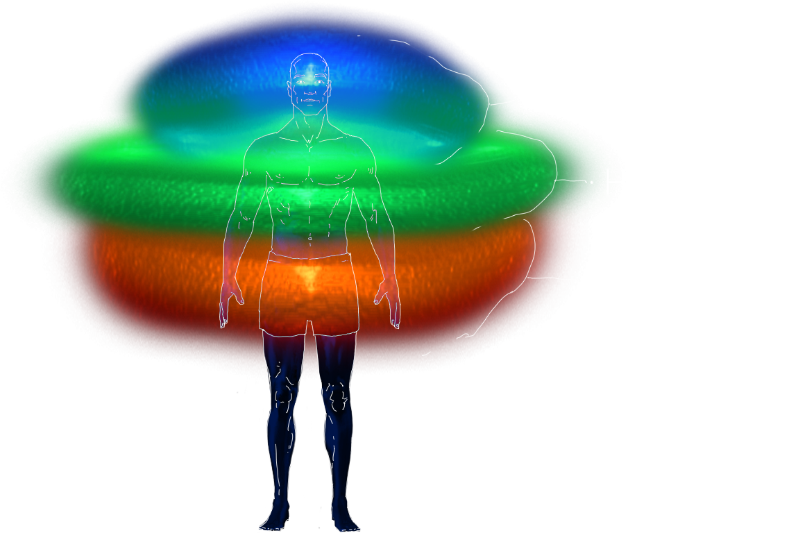 Image of Male Energy Centers by Hanuman11 Integration Agency