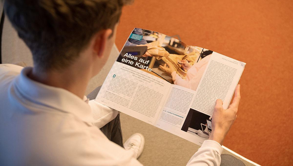 """""""Alles auf eine Karte"""" - Interview zur digitalen Kundenkarte im DBZ Kassenspezial"""