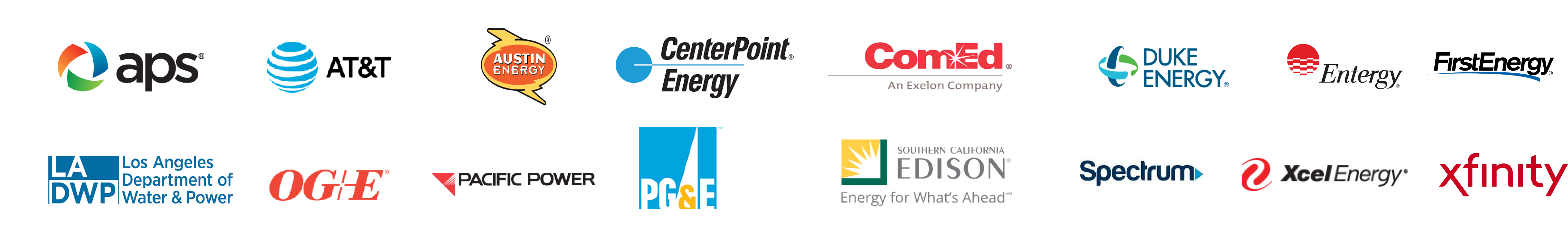 Utility partners and providers