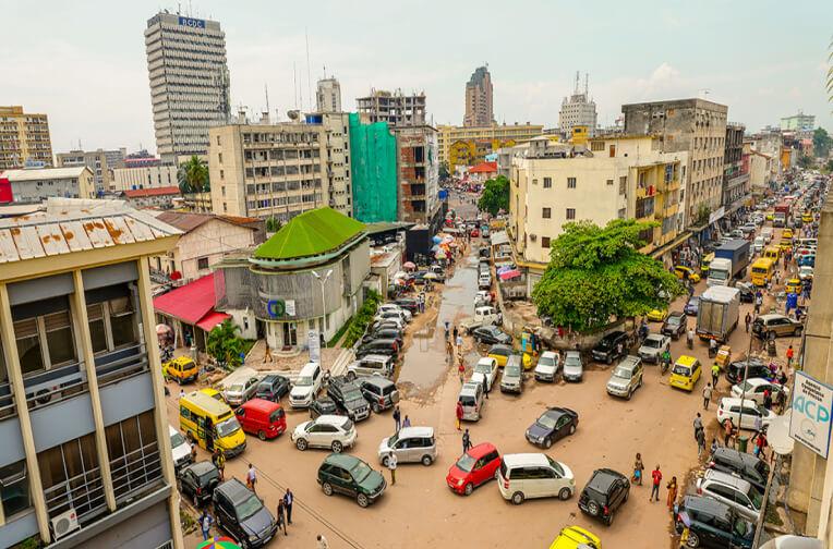 traffic in Congo