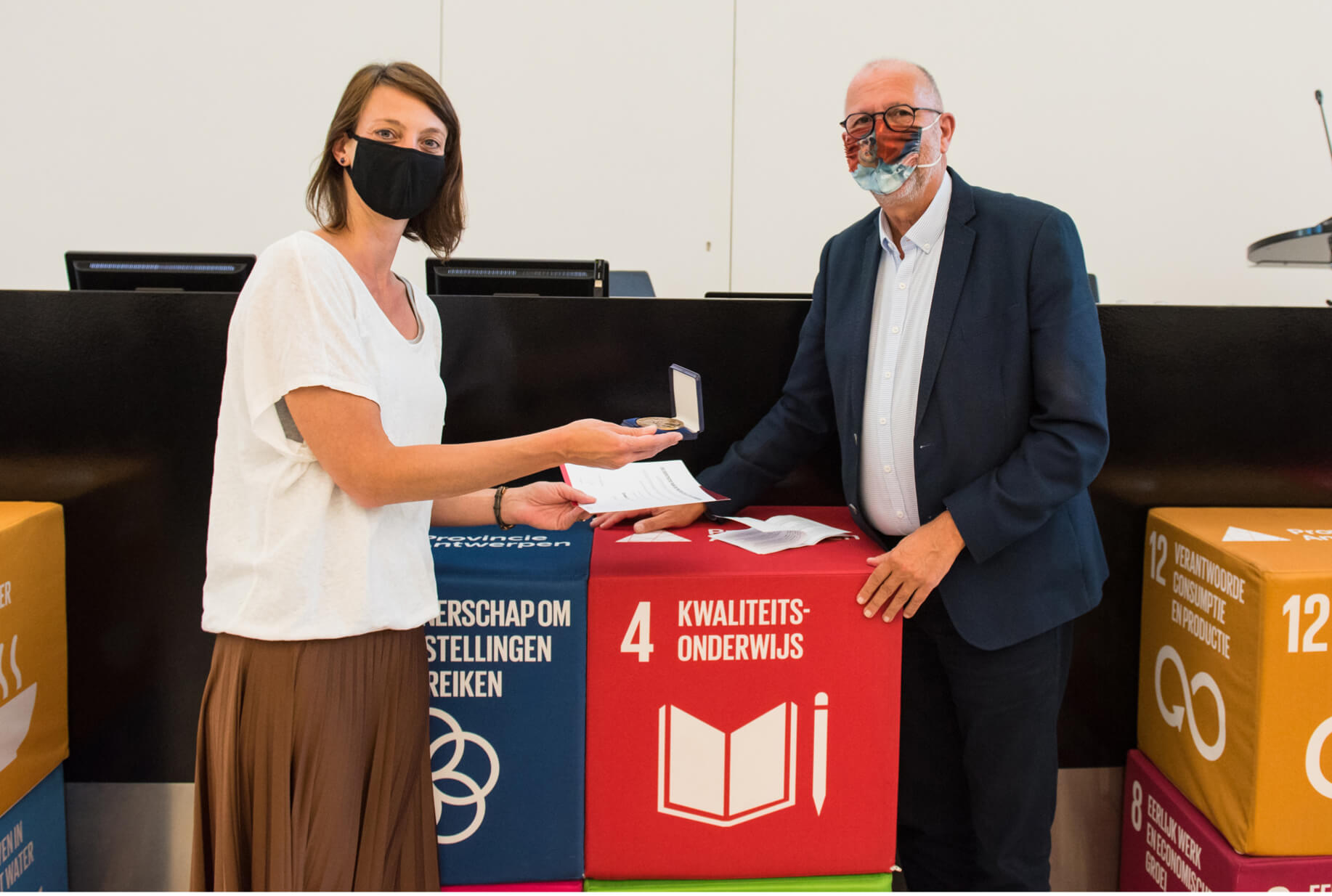 student receives award for the 2020 price for global research of the province of antwerp