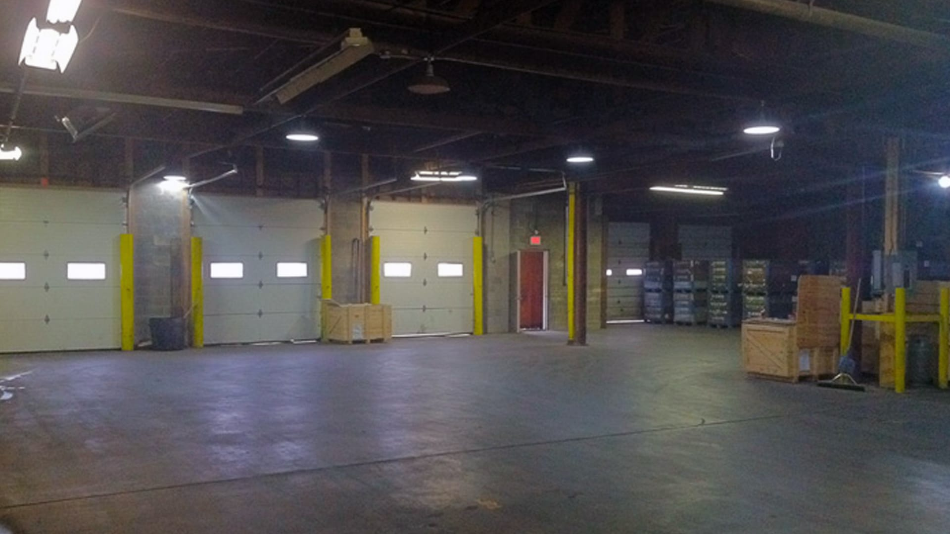 Route 80 Express warehouse interior