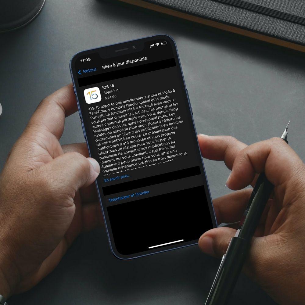 Installer iOS 15 sur son iPhone