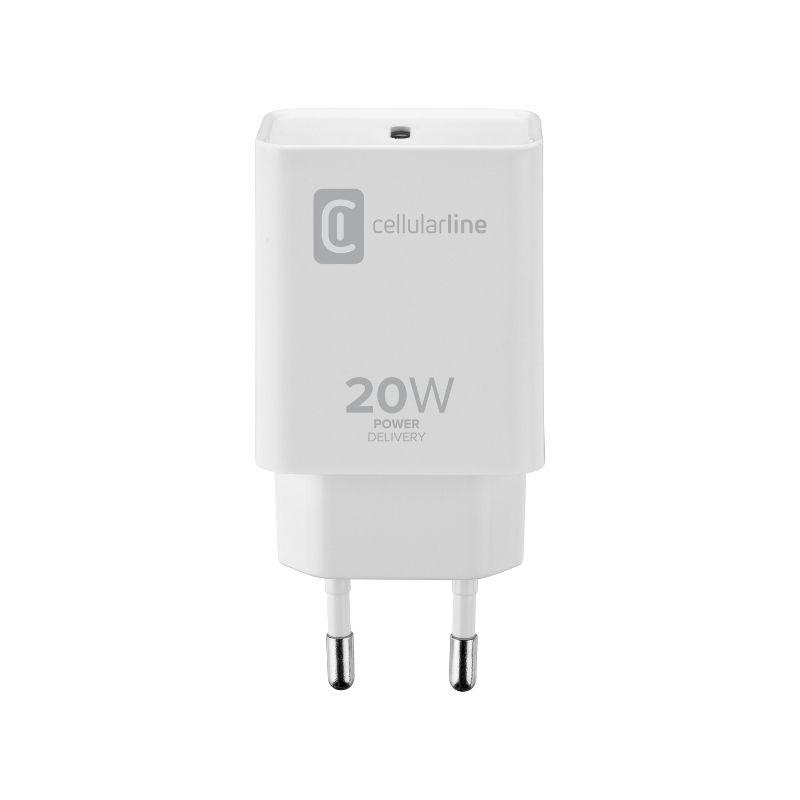 Cellularline - Chargeur secteur 20W PD USB-C