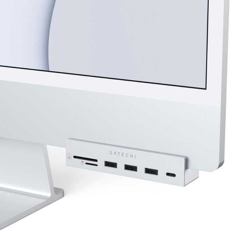 """Satechi USB-C Adaptateur pour iMac 24"""" 2021"""