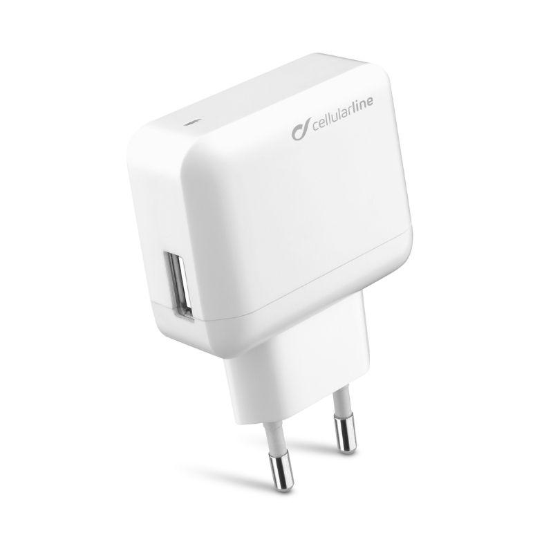 Cellularline - Chargeur secteur usb 10W/2A