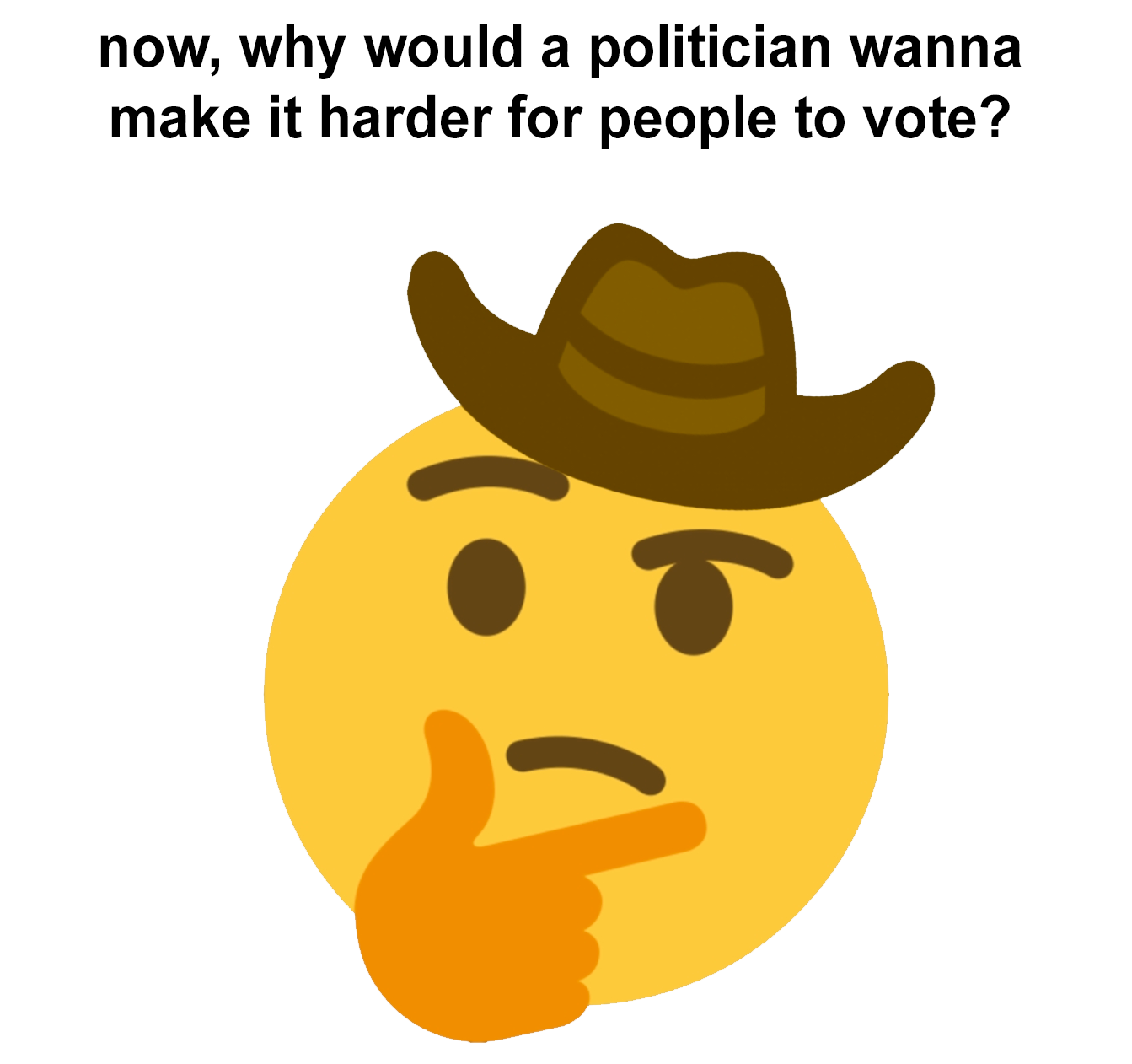 thinks in cowboy