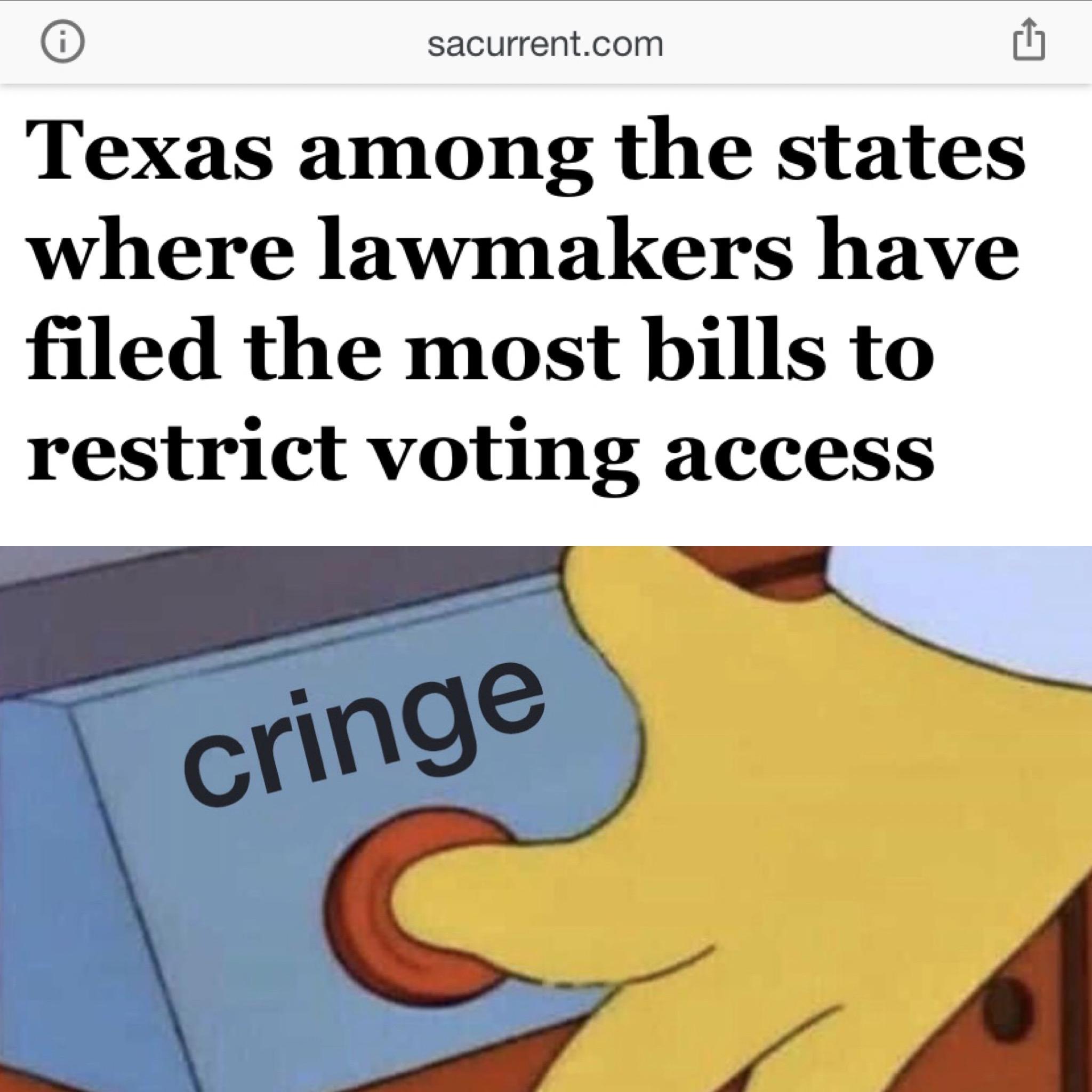 bro stop submitting cringe to the state legislature