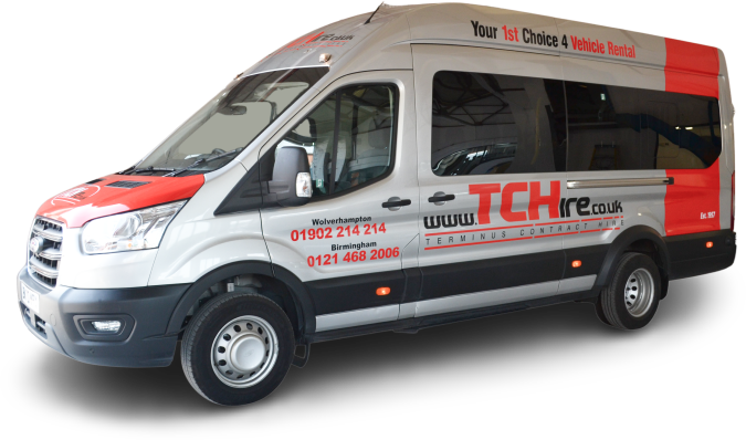 Vehicle hire prices in the West Midlands
