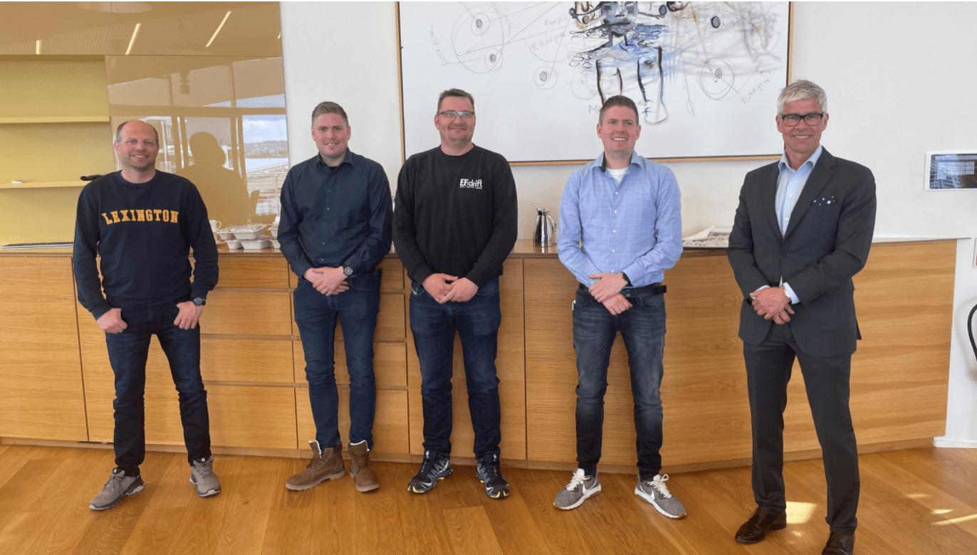 Green styrker sin posisjon i Norge: Velkommen EF Drift AS!