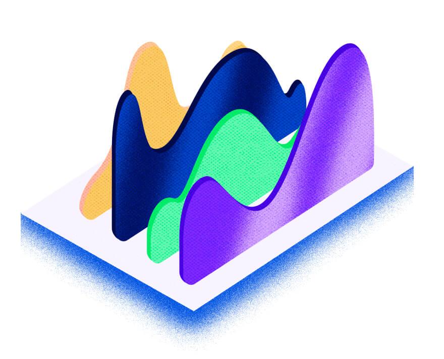 Ilustración de gráfico de barras