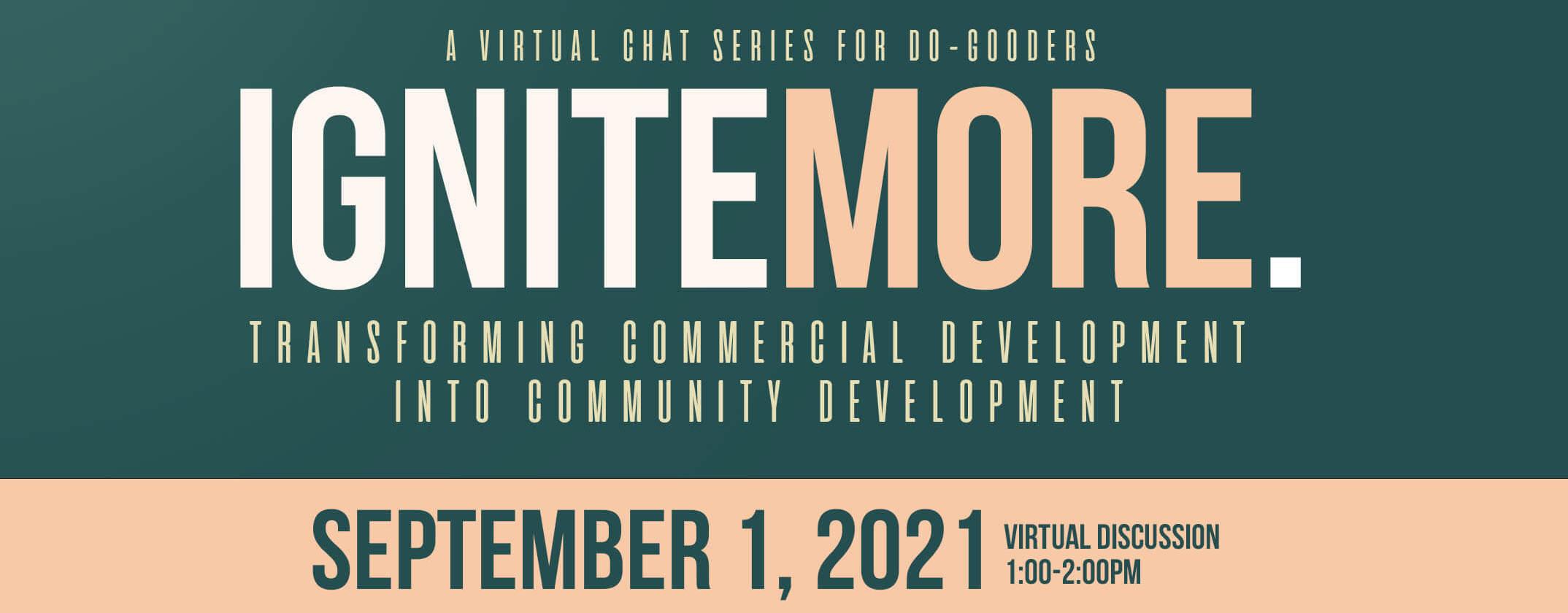 Transforming Commercial Development into Community Development