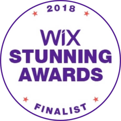 Wix Stunning Awards 2018