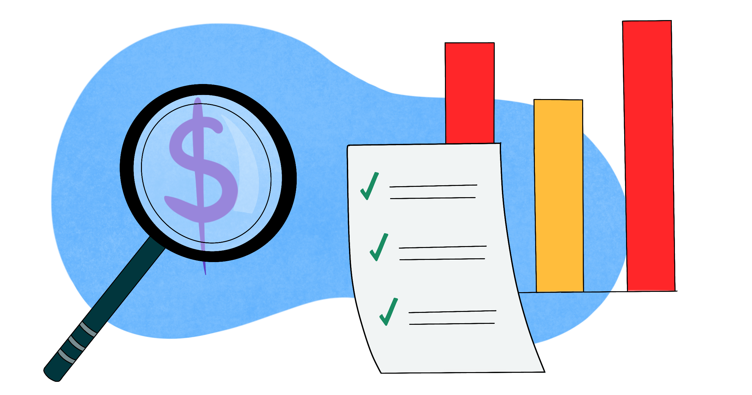 Analyze projects' financial standing