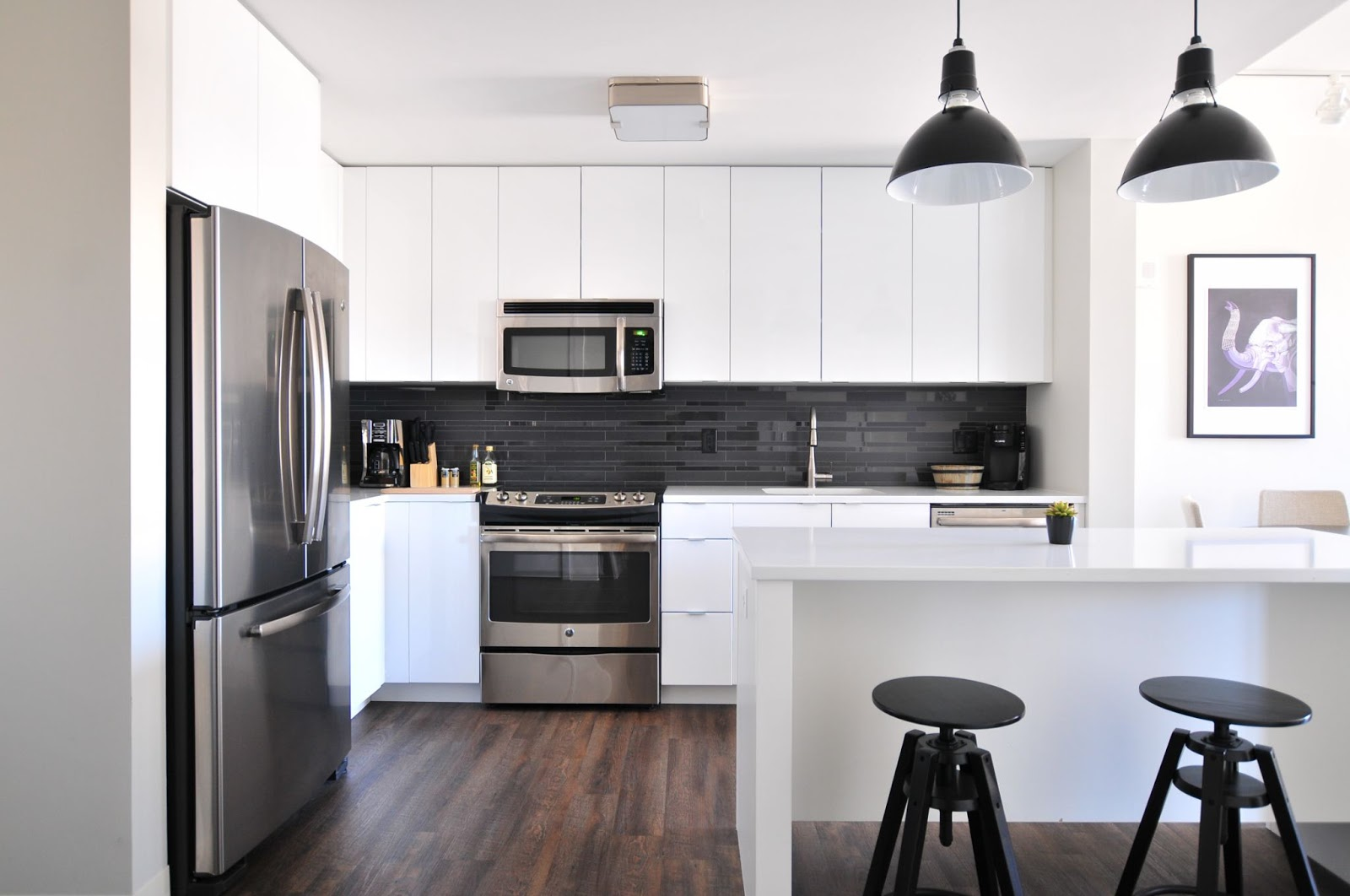 A clean and well maintained rental unit
