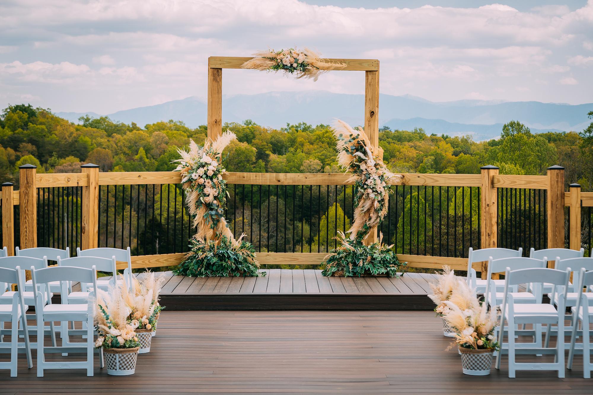 Flower Mountains Premium Decor