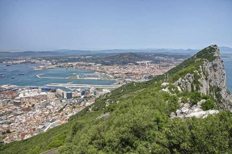 Gibraltar landscapes