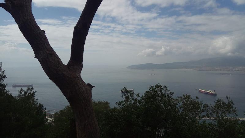 Trekking route on Ceuta